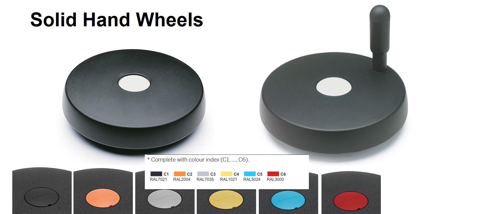 Solid handwheels